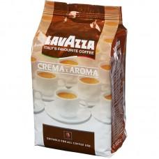 Кофе Lavazza Crema&Aroma (1 кг, зерно) коричневая