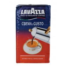 Кофе Lavazza Crema e Gusto (250 г, молотый) вакуум