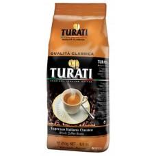 Кофе Turati Classic зерно 250гр. в/у
