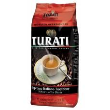 Кофе Turati Affezionato (1 кг, зерно)