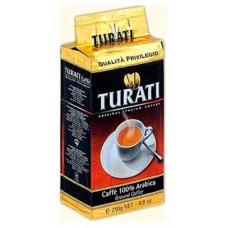 Кофе Turati Previlegio в/у молотый 250г.