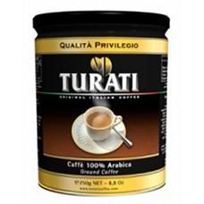 Кофе Turati Previlegio ж/б молотый 250г.