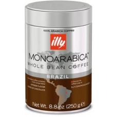 Кофе ILLY  Бразилия зерно  ж/банка 250 г