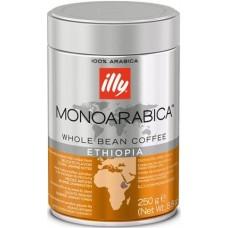 Кофе ILLY  Эфиопия зерно  ж/банка 250 г