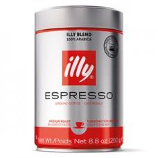 Кофе ILLY  молотый средняя обжарка ж/банка 250 г