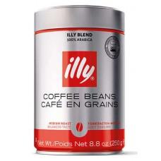 Кофе ILLY  зерно средняя обжарка ж/банка 250 г
