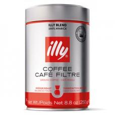 Кофе ILLY  молотый фильтр средняя обжарка ж/банка 250 г